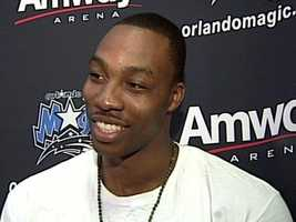 March 13, 2011: Rumors ramp up on an impending trade, but Howard speaks to reporters and says he wants to stay in Orlando after a big win against the Miami Heat.