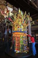 Disney Animal Kingdom Lodge mimics the feel of a South African game lodge.