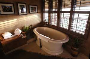 The Presidential suite offers many upgraded amenities.