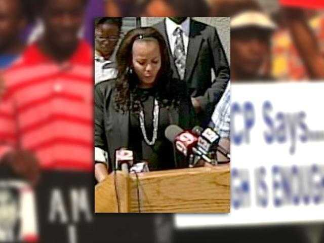 Natalie Jackson: An Orlando attorney representing Tracy Martin. She publicly called for Zimmerman's arrest several times in the weeks following the shooting.