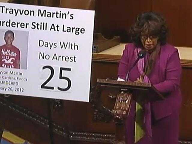 Rep. Corrine Brown: Brown has spoken out about justice in the case and traveled from Washington to attend rallies in Sanford.