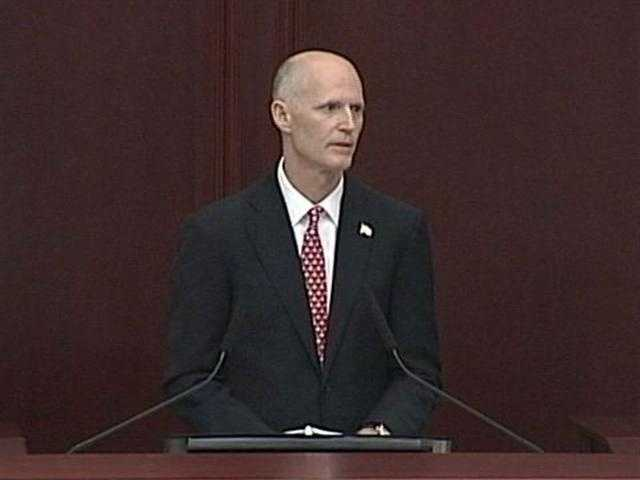 Gov. Rick Scott and Attorney General Pam Bondi: Scott and Bondi asked Wolfinger to step away from the case and asked another state attorney to step in.