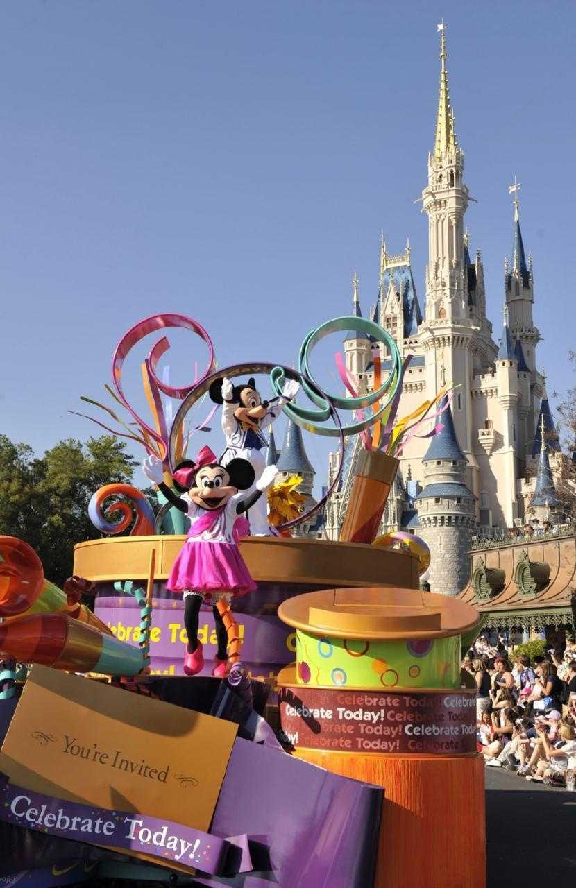 Celebrate A Dream Come True Parade at the Magic Kingdom