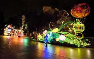 Main Street Electrical Parade at the Magic Kingdom