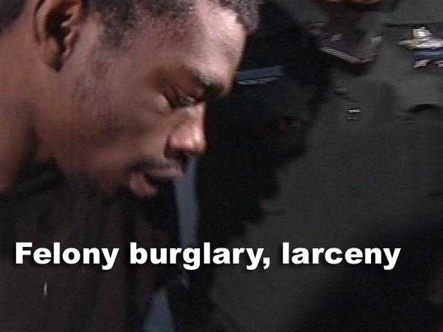 In 2007, Brandon Bradley was convicted of two felonies for burglary and larceny.