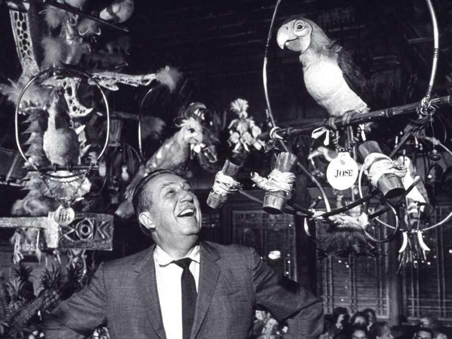 And The Tiki, Tiki, Tiki Room for Walt Disney's Enchanted Tiki Room, among others.