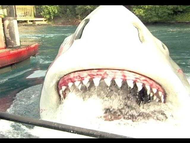 """Universal plans to close its """"Jaws"""" attraction in January."""