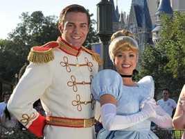 2. Cinderella and Prince Charming