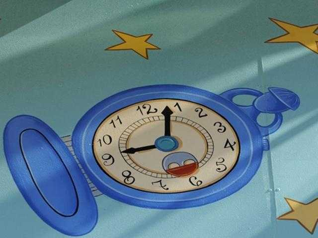 Time always flies at Walt Disney World. Where can you spot this clock?