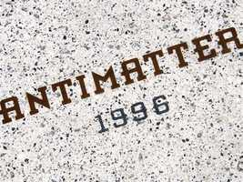 """Where might you find the word """"Antimatter"""" at Walt Disney World?"""