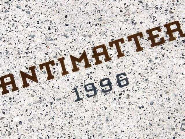 "Where might you find the word ""Antimatter"" at Walt Disney World?"