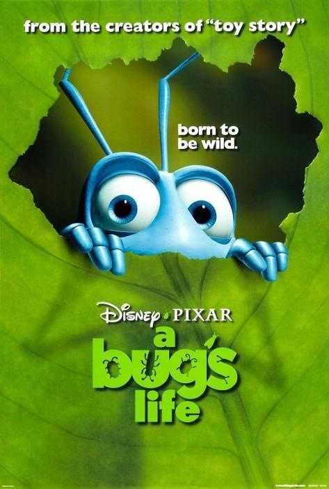 A Bug's Life - Released in 1998