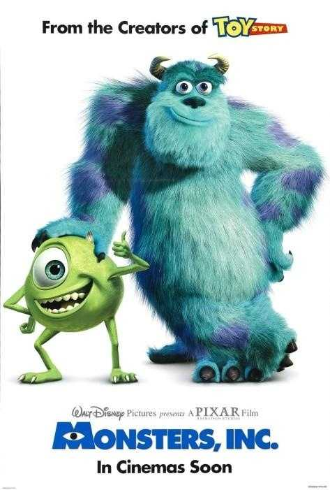 Monsters, Inc. - Released in 2001