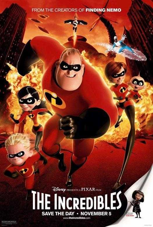 The Incredibles - Released in 2004