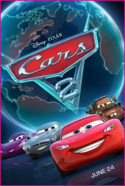 Cars 2 - Released in 2011