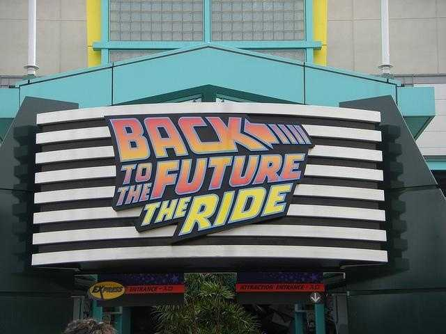 Back to the Future: The Ride closed in 2007.  It was replaced by The Simpsons Ride.
