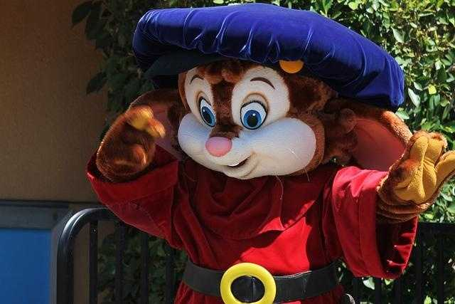 While Fievel still appears in the park, he used to have a show in the American Tail theater.  It closed in 1992.