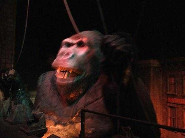 Kongfrontation shut down in 2002.  Revenge of the Mummy: The Ride now sits in its place.