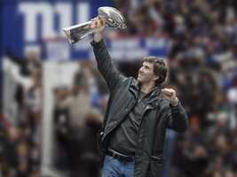 2008: Super Bowl XLII (Eli Manning, New York Giants)