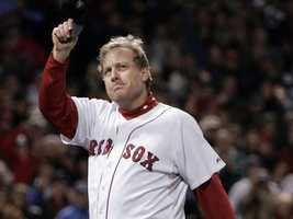 2004: Major League Baseball World Series Champions (Curt Schilling, Pedro Martinez and David Ortiz, Boston Red Sox)