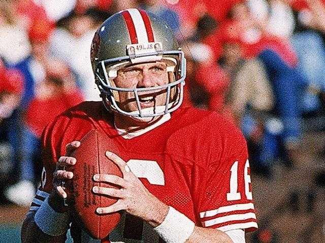 1989: Super Bowl XXIII (Joe Montana, San Francisco 49ers)