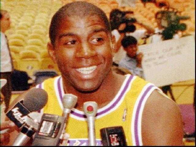 1987: NBA (Magic Johnson, L.A. Lakers)