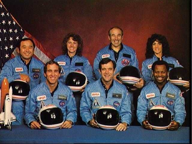 Official portrait of the STS 51-L crewmembers