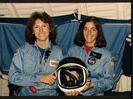 Christa McAuliffe and Barbara Morgan named Teacher in Space Participants