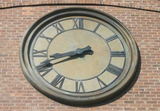 Tick, Tick, Tick.  If you have a keen eye you might be able to spot where this clock is from at the Walt Disney Resort.