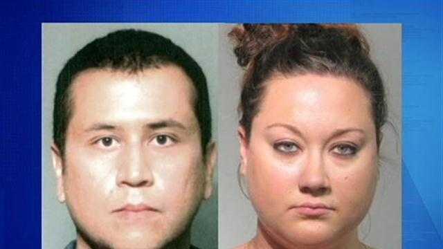 Zimmerman Wife Arrested