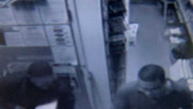Gamestop armed robbery caught on camera