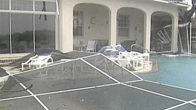 Debby drenches Florida as homeowners clean up
