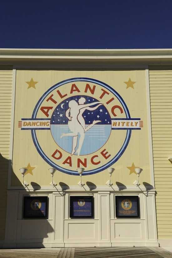 Put on your dancing shoes because the yellow star can be found at the Atlantic Dance Hall at Disney's BoardWalk Area.  Did you guess right?