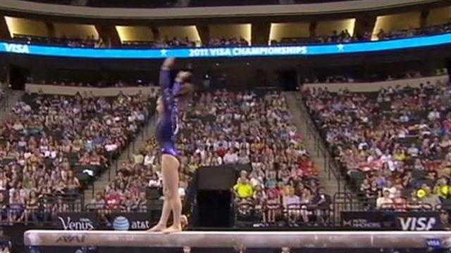 Olympics gymnastics