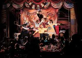 "Family dinner theaters are a great way to stay dry.  Check out ""Hoop-Dee-Doo Musical Revue"" at Disney's Fort Wilderness Resort."