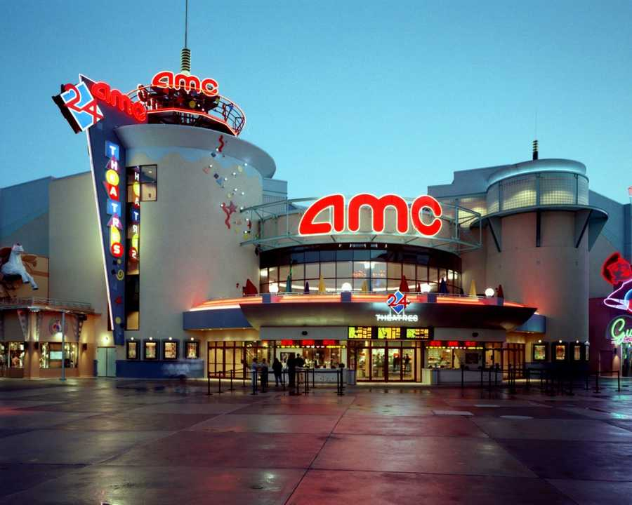 Take a break from the theme parks and stay dry by  catching a movie at the AMC 24 movie theater complex at Downtown Disney West Side.