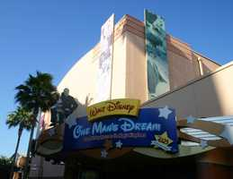 """The specific """"D"""" you were looking for is located in front of One Man's Dream at Disney's Hollywood Studios.  Did you get it right or where you stumped?"""