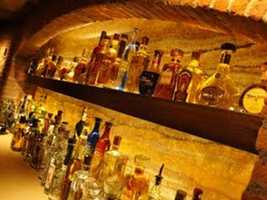 Thirsty, friend? If tequila is your elixir, Cava del Tequila at Epcot boasts 70 different brands of the stuff. Paradiso 37 at Downtown Disney Pleasure Island has 37 types of tequila.
