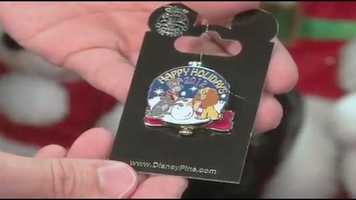 Limited edition holiday pin to be released.