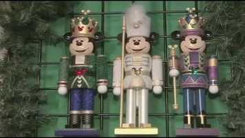 Classic nutcracker Mickey designs available during the winter holiday.
