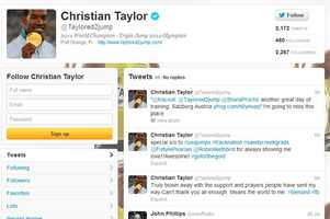 Christian Taylor - @Taylored2jumpMen's track and fieldUniversity of Florida graduate
