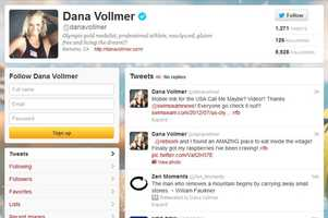 Dana Vollmer -@danavollmerWomen's swimmingAttended the University of Florida