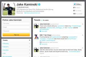 Jake Kaminski -@jakekaminskiArcheryFrom Edgewater