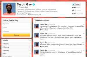 Tyson Gay -@TysonLGayMen's track and fieldLives in Clermont