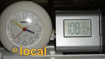How hot is it near you? Show us by uploading a photo on u local, and we may use the photo on TV!