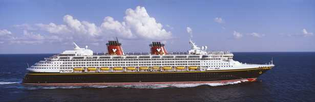 Disney launched its first cruise ship, Disney Magic, on July 30, 1998. At its launch it was one of the three largest ships in the world.