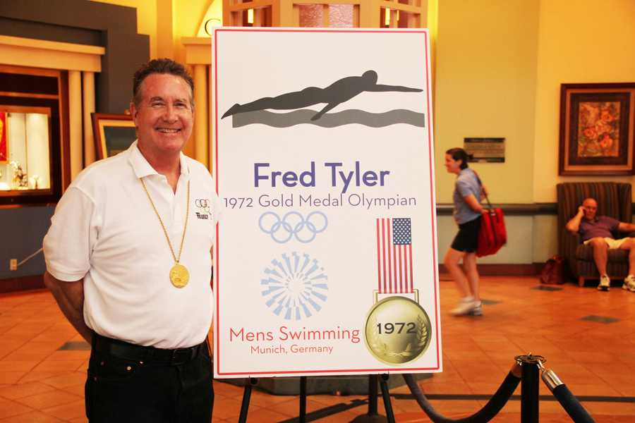 Fred Tyler won a gold-medal in the 1972 games in Munich.