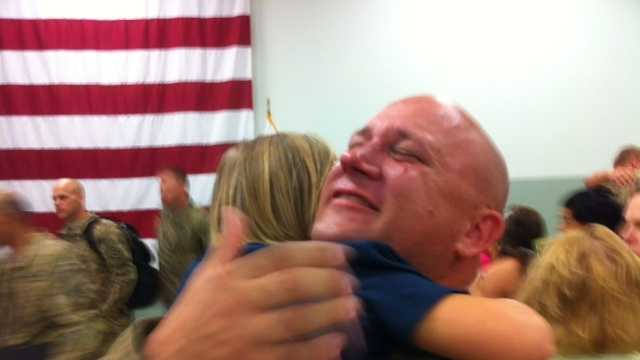 Wednesday was their time to celebrate, and the reunions were emotional.