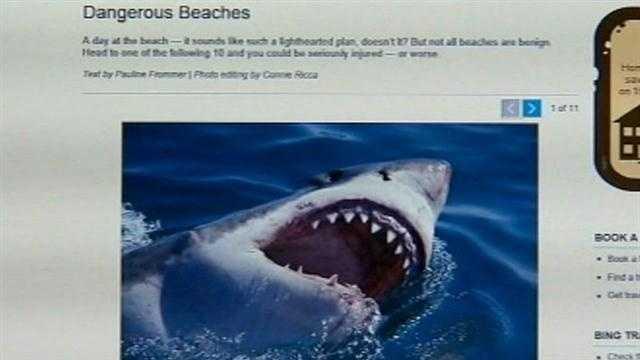 Volusia beaches make 'dangerous' list