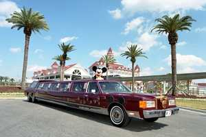 Mickey Mouse's 40 foot liMOUSEine traveled to 37 cities promoting the opening of Disney's MGM Studios, now Hollywood Studios, in 1989.